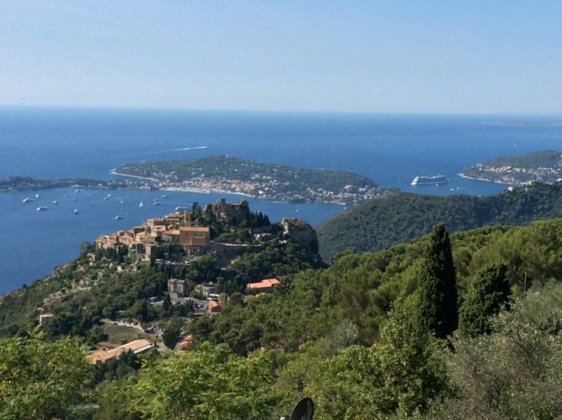 Eze France : Million dollar views of the French Riviera