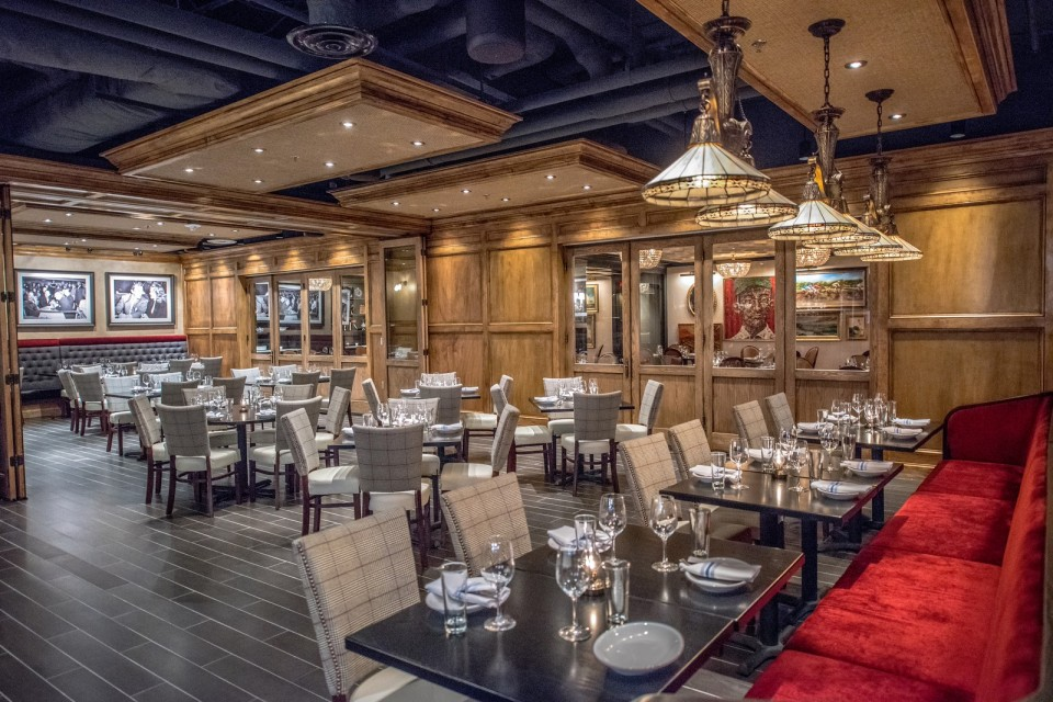 Pennsylvania 6 DC restaurant: one of three dining rooms