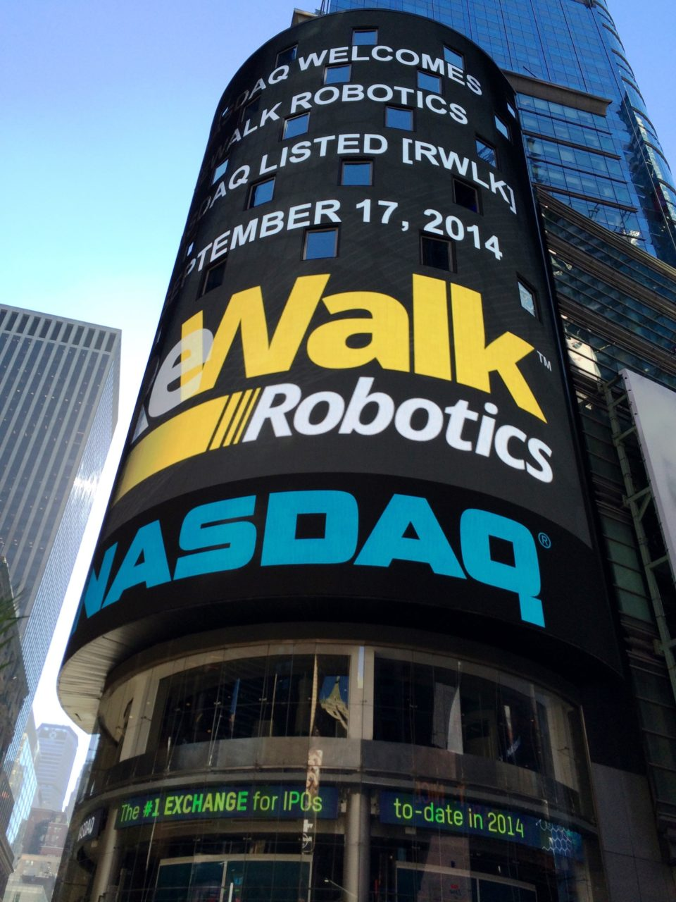 Technion : Technion Alumnus Has His Day on Wall Street as ReWalk Stock Soars