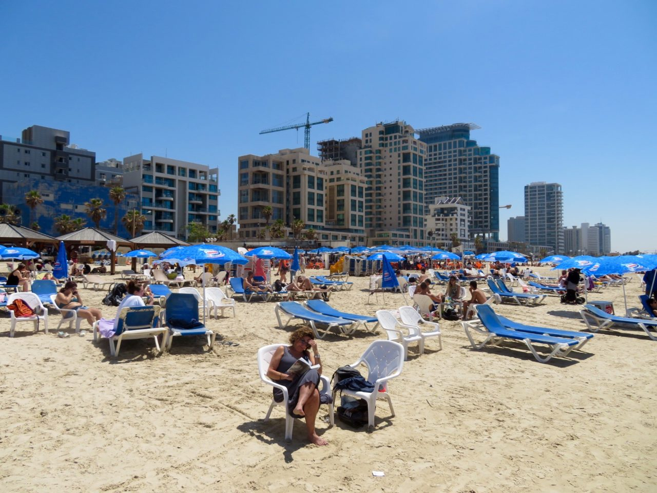 Tel Aviv Beach : Another facet of the Tel Aviv Beach