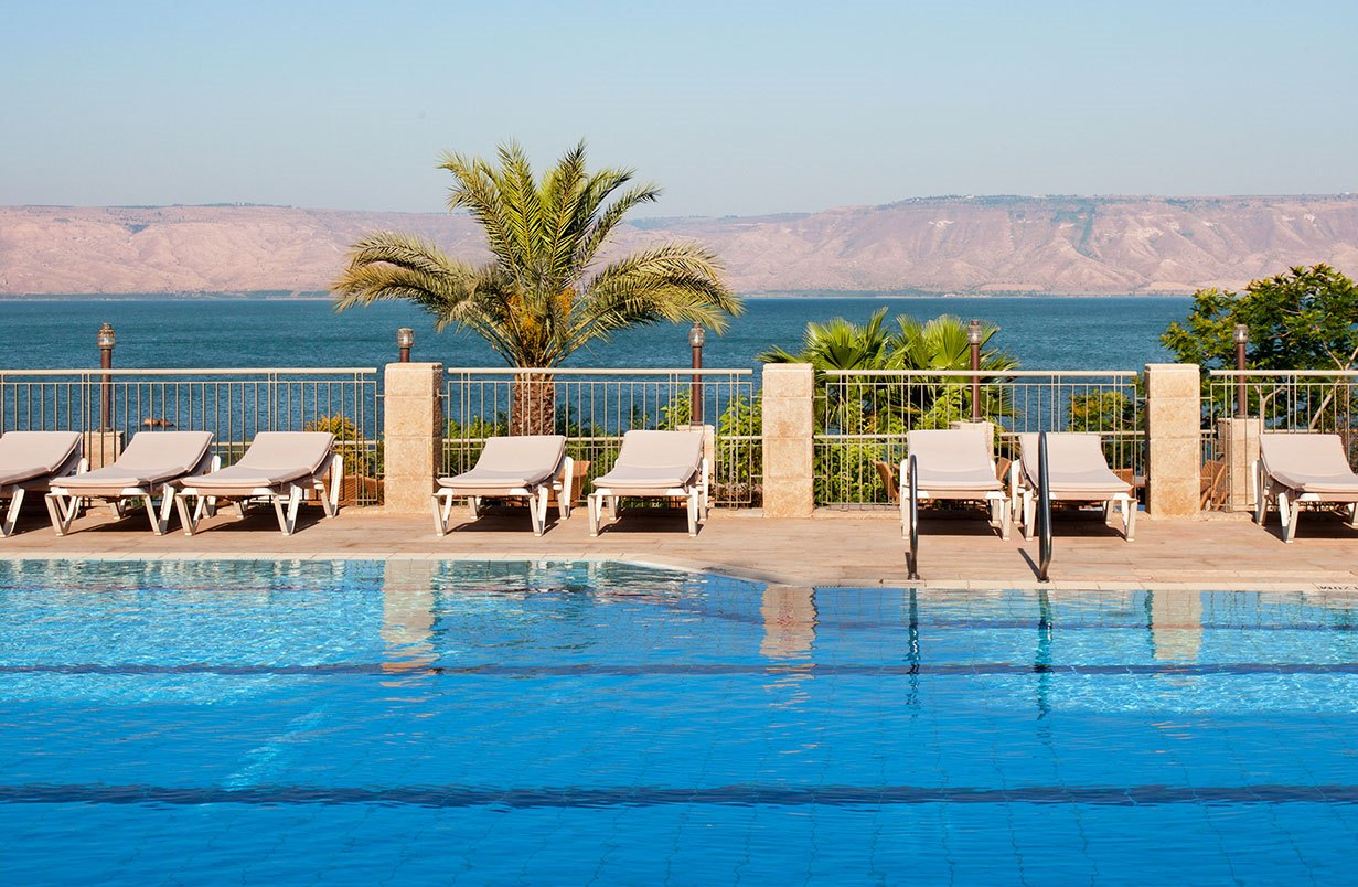 Vacationing in Israel ... The Scots Hotel in Tiberias