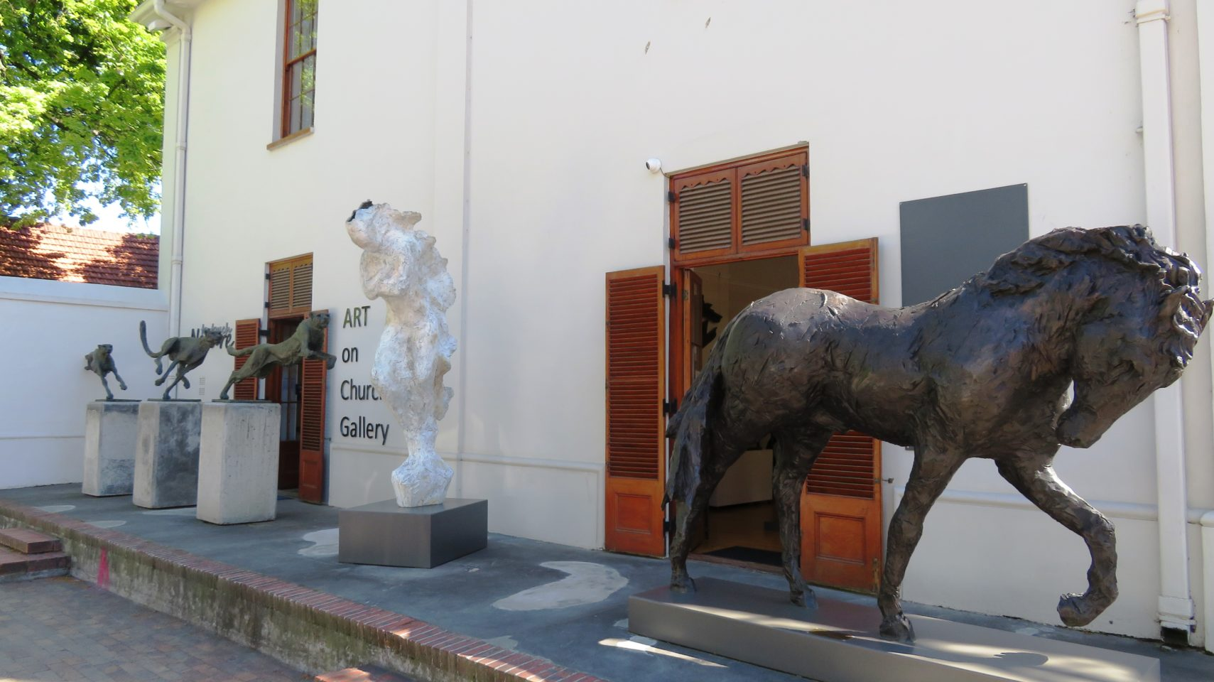 Art Gallery in Stellenbosch, South Africa