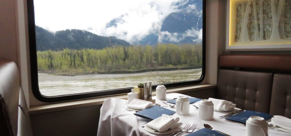 Rocky Mountaineer ~ Fine Dining with Spectacular Views