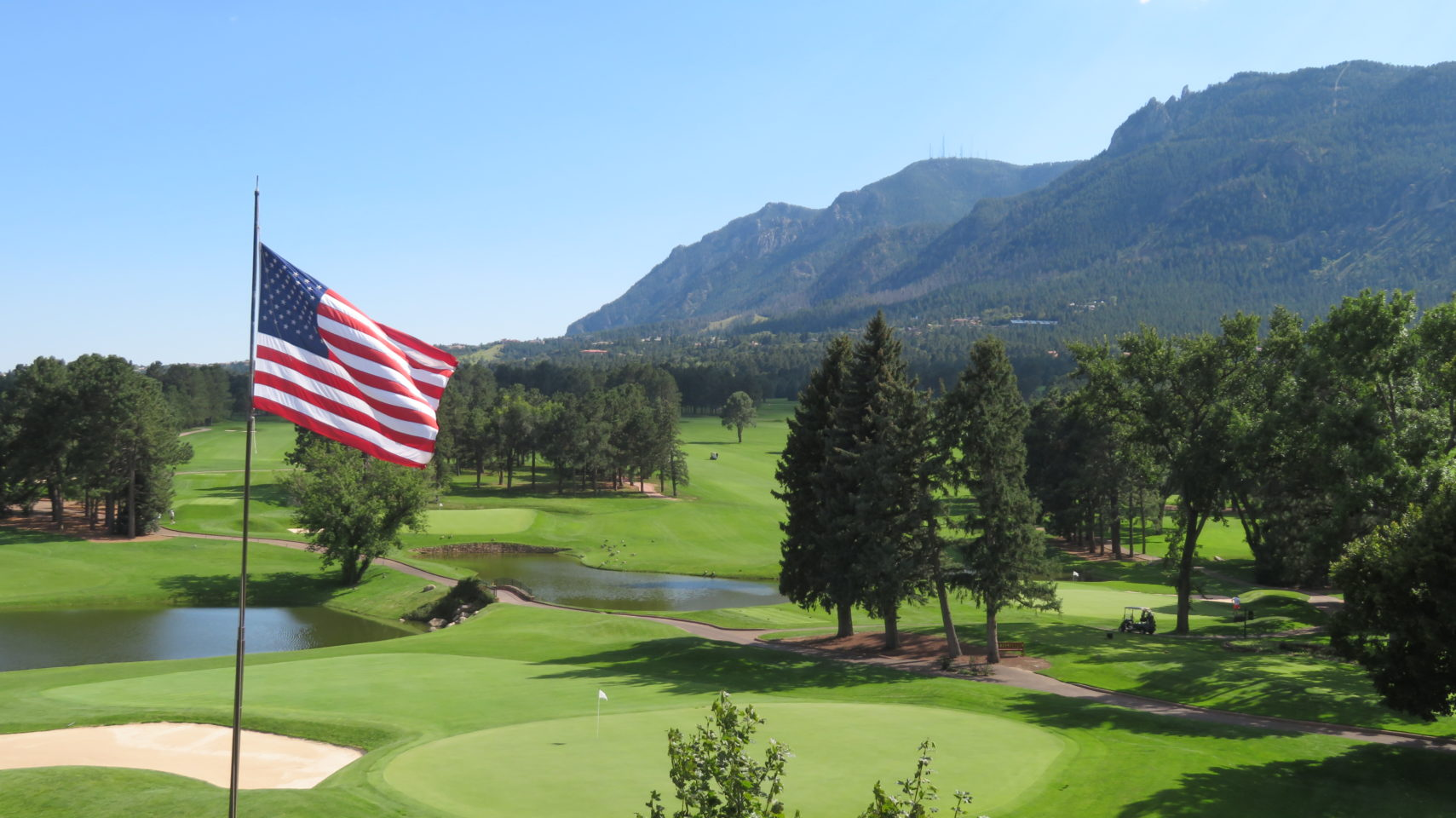 One of three award winning golf courses at The Broadmoor