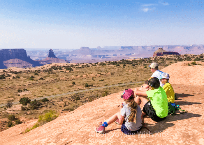 essential-hiking-gear-kid-friendly-hike-canyonlands-national-park
