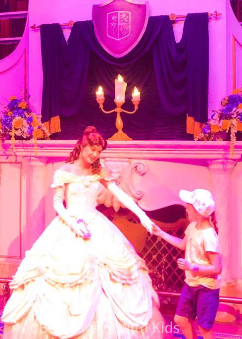 best disney world rides for preschoolers princess belle with girl
