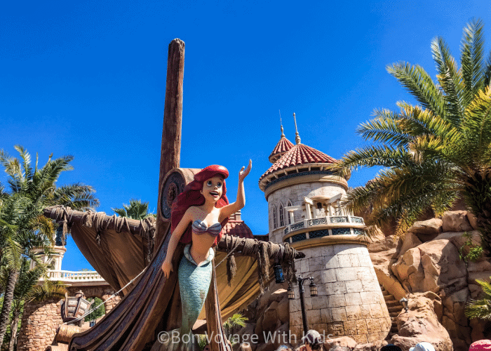 best disney world rides for toddlers ariel ride