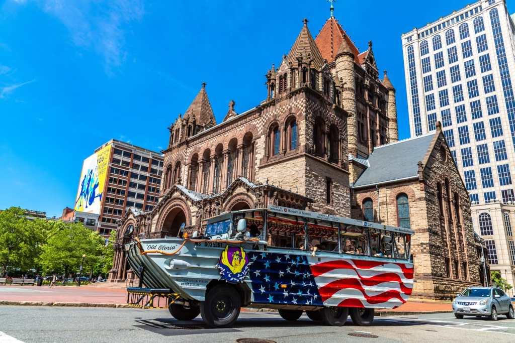 duck tours in Boston