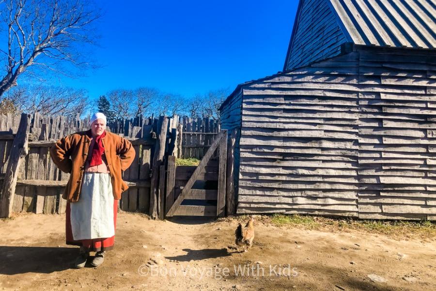 pilgrim at plimoth plantation