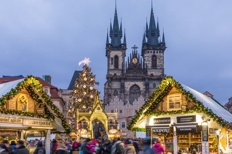 Prague at Christmas