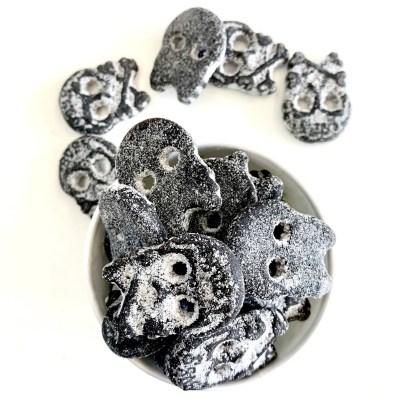Bonza Confectionery - Salt Skulls Liquorice 1