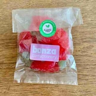 Giant Strawberries - Bonza Confectionery