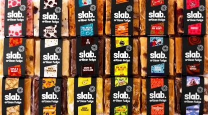 Slab Artisan Fudge Creative Photo - Dairy All