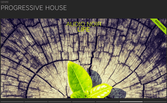 AUDIO NOIR – LIFE FEATURED BY BEATPORT