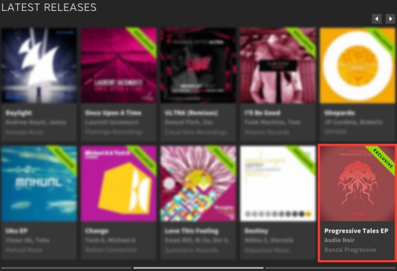 AUDIO NOIR – PROGRESSIVE TALES EP FEATURED BY BEATPORT