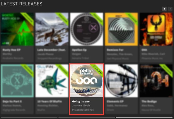 JUANMA LLOPIS – GOING INSANE FEATURED BY BEATPORT