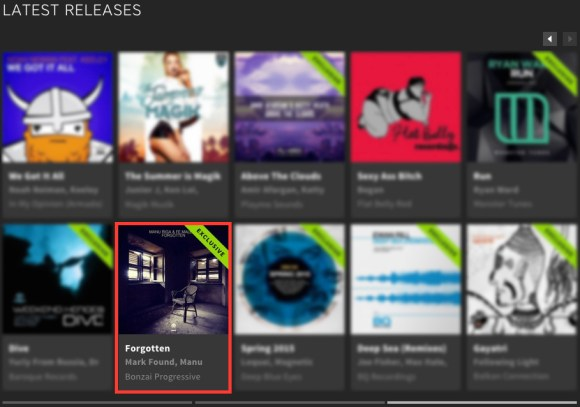 MANU RIGA & FE MALEFIZ – FORGOTTEN FEATURED BY BEATPORT