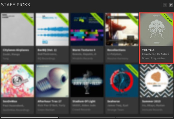 COMPLETEJ – TELL-TALE FEATURED BY BEATPORT