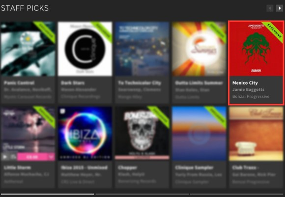JAMIE BAGGOTTS – MEXICO CITY FEATURED BY BEATPORT
