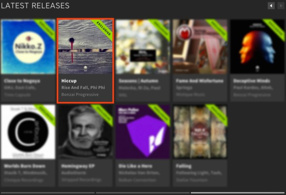PHI PHI – HICCUP FEATURED BY BEATPORT