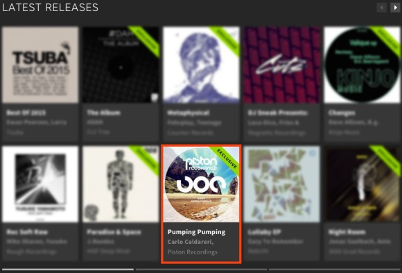 BONETTI – PUMPING PUMPING EP FEATURED BY BEATPORT