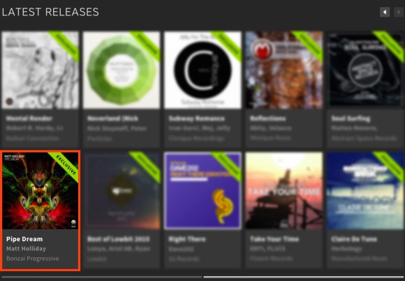 MATT HOLLIDAY – PIPE DREAM FEATURED BY BEATPORT