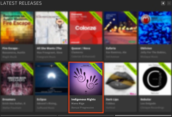 MANU RIGA – INDIGENOUS RIGHTS FEATURED BY BEATPORT