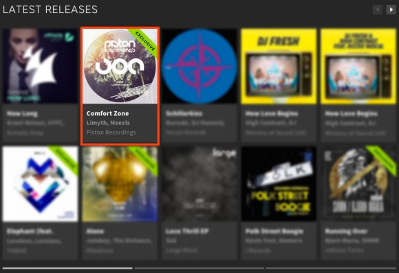 MEEELS – COMFORT ZONE EP FEATURED BY BEATPORT