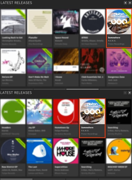 P.A.M.O. – SOMEWHERE FEATURED BY BEATPORT