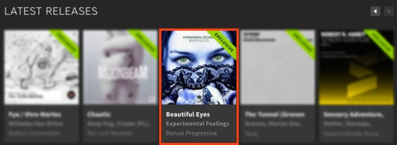 EXPERIMENTAL FEELINGS – BEAUTIFUL EYES FEATURED BY BEATPORT