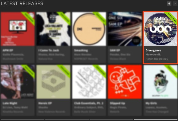 MONOTRONIK – DIVERGENCE FEATURED BY BEATPORT