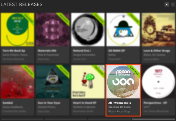 ALESSIO RIZZO – ALL I WANNA DO IS SHAKE FEATURED BY BEATPORT