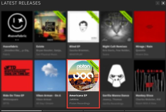 JAKHIRA – AMERICANA EP FEATURED BY BEATPORT
