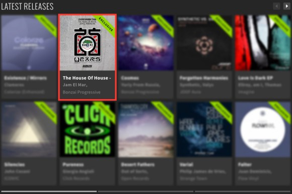 CHERRYMOON TRAX – THE HOUSE OF HOUSE – JAM EL MAR REMIX FEATURED BY BEATPORT