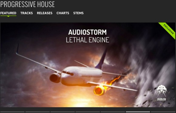 AUDIOSTORM – LETHAL ENGINE FEATURED BY BEATPORT