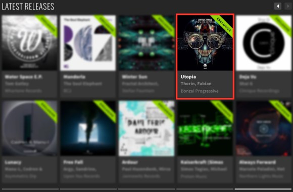 CORTEX THRILL – UTOPIA (COLONIZATION) FEATURED BY BEATPORT