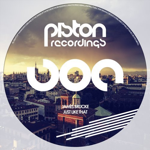 JAMES BRUCKE – JUST LIKE THAT (PISTON RECORDINGS)