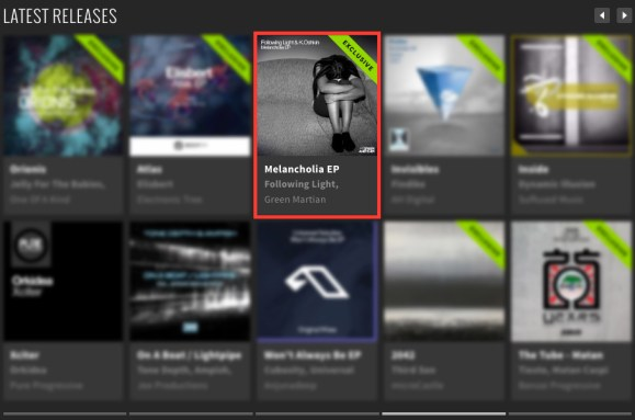 FOLLOWING LIGHT & K.OSHKIN – MELANCHOLIA EP FEATURED BY BEATPORT