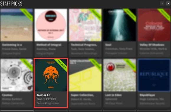 PAVLIN PETROV – TREMOR EP FEATURED BY BEATPORT