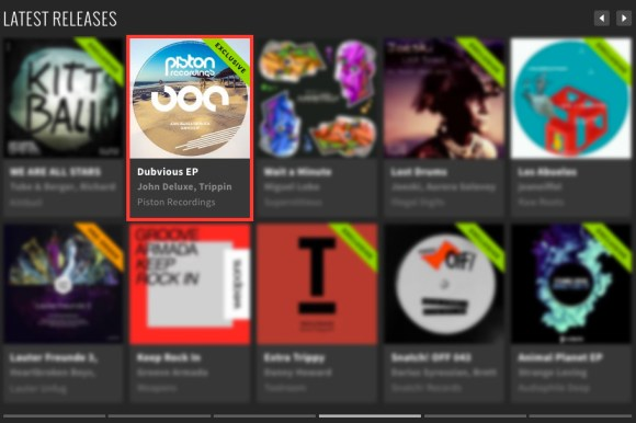 JOHN DELUXE & TRIPPIN FOX – DUBVIOUS EP FEATURED BY BEATPORT