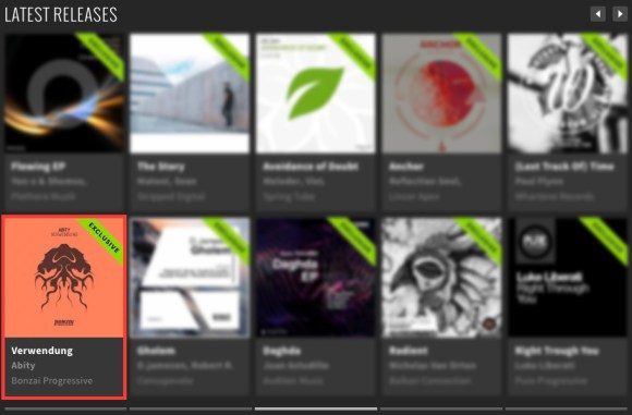 ABITY – VERWENDUNG FEATURED BY BEATPORT
