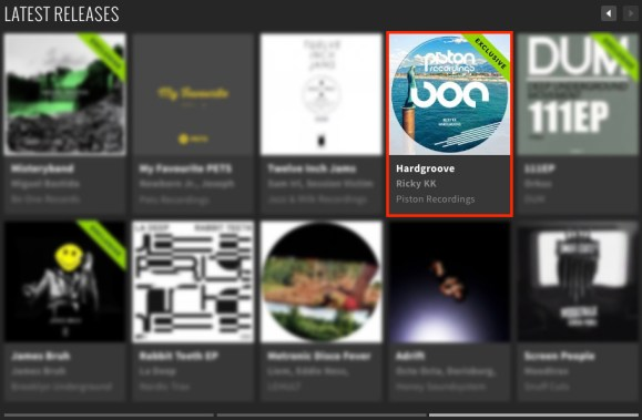 RICKY KK – HARDGROOVE FEATURED BY BEATPORT