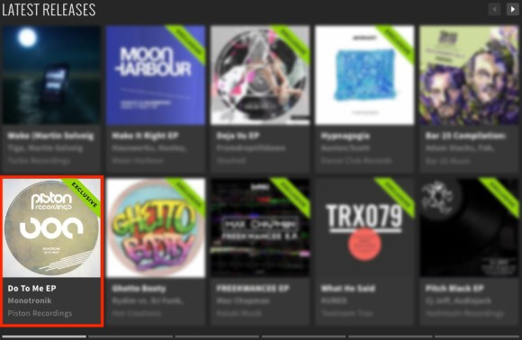 MONOTRONIK – DO TO ME EP FEATURED BY BEATPORT