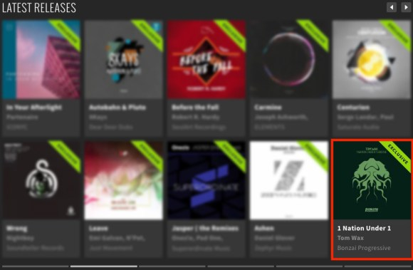 TOM WAX – 1 NATION UNDER 1 GROOVE FEATURED BY BEATPORT