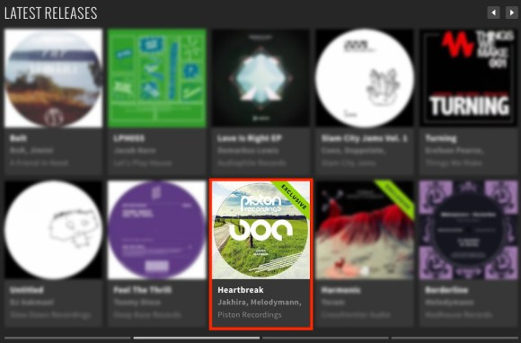 JAKHIRA – HEARTBREAK FEATURED BY BEATPORT