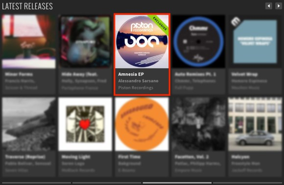 ALESSANDRO SARSANO – AMNESIA EP FEATURED BY BEATPORT