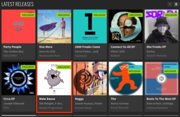 SID DELIGHT – MOLE DANCE FEATURED BY BEATPORT
