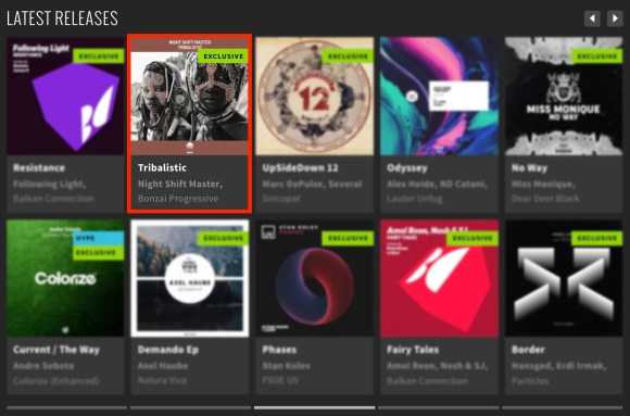 NIGHT SHIFT MASTER – TRIBALISTIC FEATURED BY BEATPORT