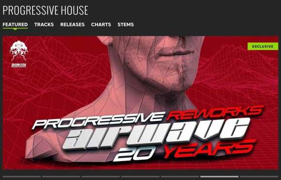 AIRWAVE – 20 YEARS – PROGRESSIVE REWORKS FEATURED BY BEATPORT