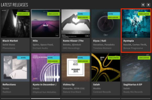 KÖSCHK – DYSTOPIA FEATURED BY BEATPORT
